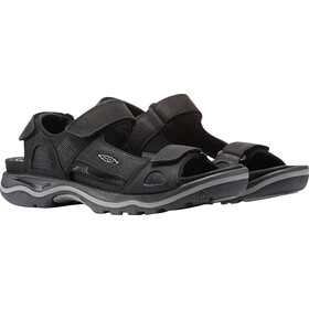 Keen M's Rialto 3 Point Sandals Black/Neutral Gray